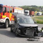 80-Jähriger nimmt Sattelzug die Vorfahrt: Unfall auf B4 bei Sundhausen