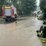 Unwetter bedrohte Kindergarten sowie Wohnhäuser rund um Wurzbach