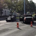 Schwerverletzte nach Vorfahrtsverstoß in Erfurt - Auto landet auf Dach