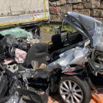 Unfall mit mehreren Fahrzeugen auf A4 bei Jena: Vier teils Schwerverletzte