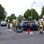Schwerverletzte nach Vorfahrtsverstoß in Bad Salzungen - Zwei Hubschrauber im Einsatz