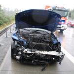 Zu schnell bei Starkregen? BMW verunglückt zwischen Dittersdorf und Schleiz