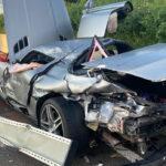Mit hochmotorisiertem Wagen verunglückt: AMG-Fahrer auf A9 bei Triptis verletzt