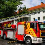 Wohnungsbrand in Mehrfamilienhaus: Feuerwehr muss in Nordhausen löschen