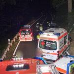 Schutzengel bei nächtlichem Unfall für Familienvater und Baby nahe Wurzbach