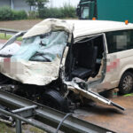 Tödlicher Unfall bei Arenshausen: Taxifahrer kracht in entgegenkommenden Lkw