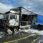 Lkw-Brand auf der A71 bei Sömmerda: Lange Vollsperrung war notwendig