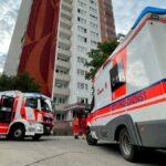 Brand im Erfurter Norden: Feuer und Rauch richten großen Schaden  in Wohnung an