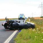 Tragischer Unfall auf der B4 zwischen Straußfurt und Greußen - Motorradfahrer stirbt