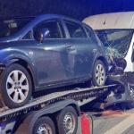 Unfall auf der A4 bei Mellingen: 40-Jähriger in Kleintransporter schwer verletzt