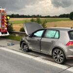 Unfall auf A9 zwischen Lederhose und Triptis: 33-Jähriger schwer verletzt
