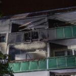 Wohnung in Erfurter Mehrfamilienhaus brennt aus - Acht Menschen verletzt