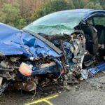 Stark alkoholisierter Fahrer verursacht Unfall bei Gräfenthal - Drei Schwerverletzte