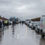 Zwei Schwerverletzte auf A38: Geisterfahrer blockiert Einsatzkräfte in Rettungsgasse