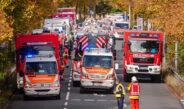 Großangelegte Einsatzübung in Erfurt: Terrorangriff in Einkaufszentrum simuliert