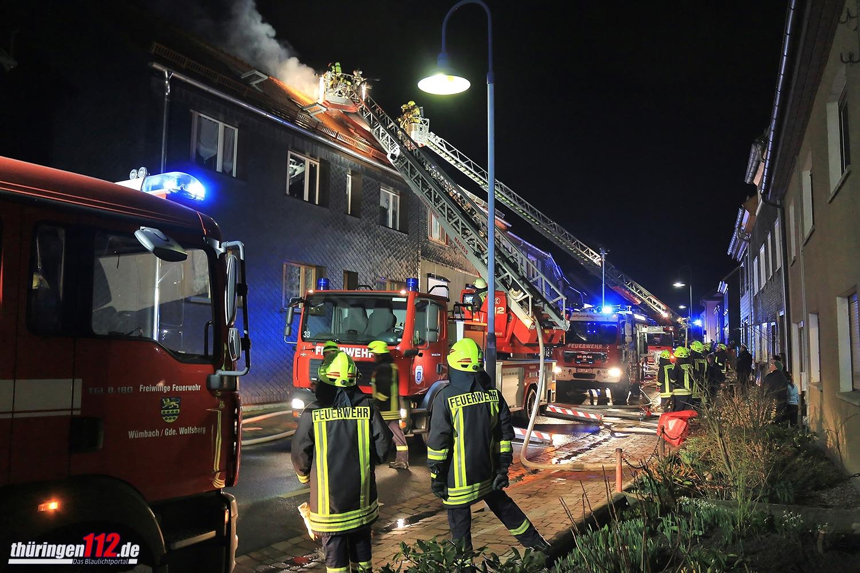 Dachstuhlbrand Gr+ñfinau Angstedt 170317 (1)