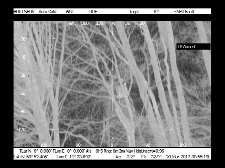 17032001 Medieninformation LPIJena Wärmebildkamera-Hochsitz im Wald