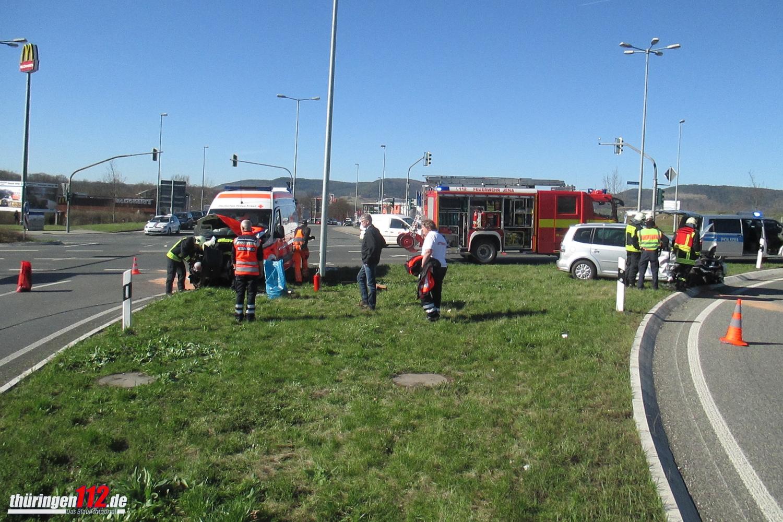 Unfall in Jena 0