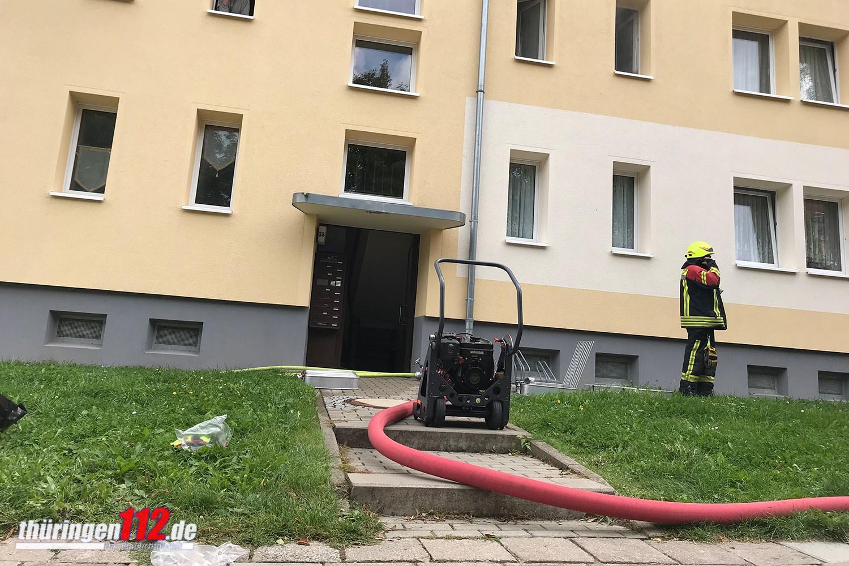 Brandeinsatz Arnstadt a