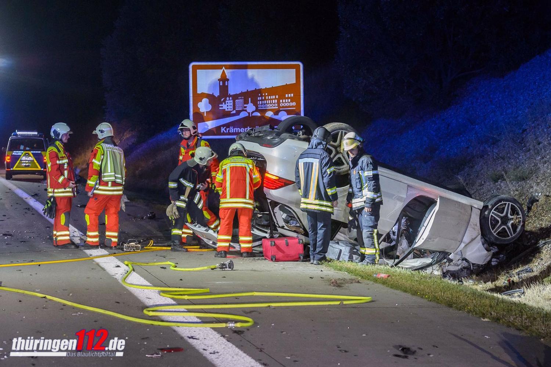 Autobahn Erfurt-Crash