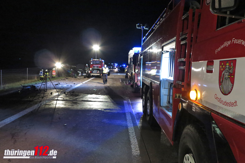 Unfall A71 Sömmerda