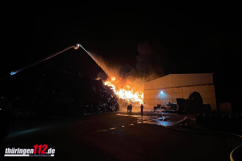 Brand Wertstoffhof1